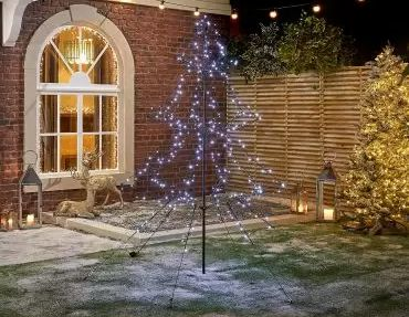 2m LED Pop Up Tree
