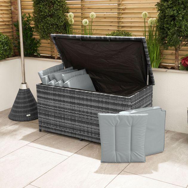 Standard Cushion Storage Box - Grey
