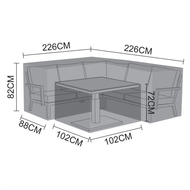 Cover Pack for Vogue Compact Corner Dining Set