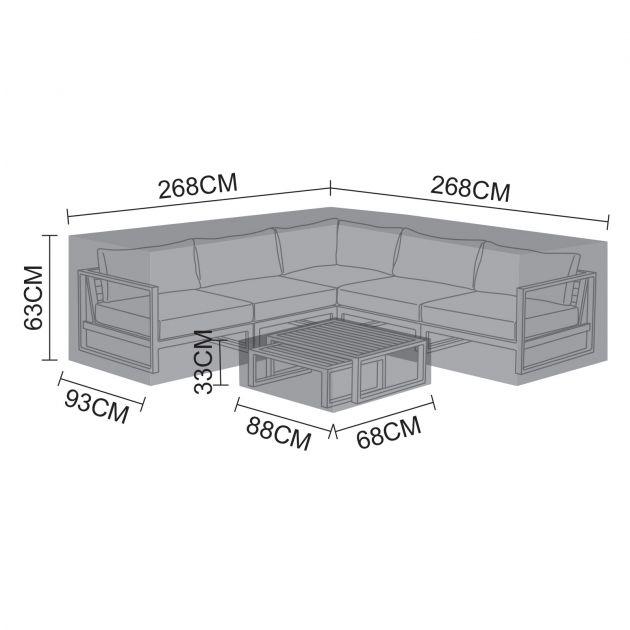 Cover Pack for Alessandria Corner Sofa Set