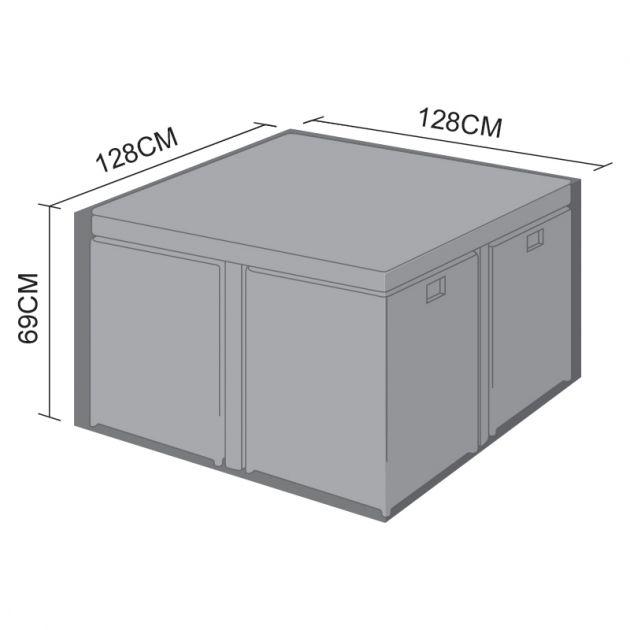 Cover for Nova 4 Seat Cube Set - 128cm x 128cm x 69cm