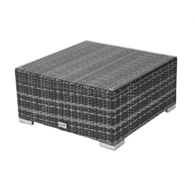 Square Coffee Table - Grey