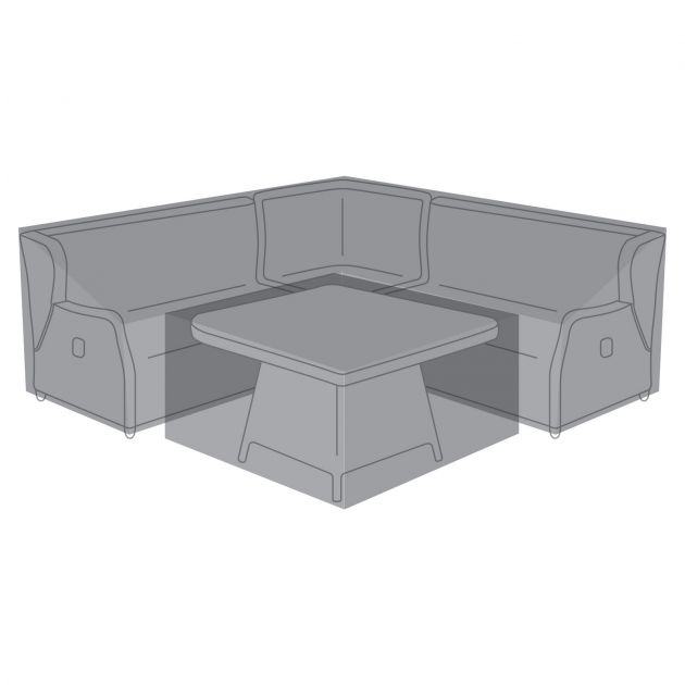 Cover Pack for Skylar 1B Casual Dining Set with Firepit Table