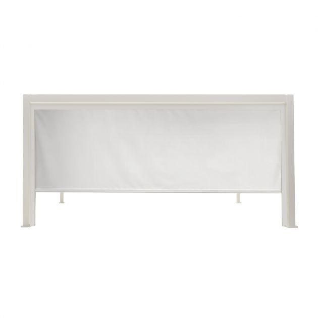 Privacy Screen for 3.6m Titan Pergola - White