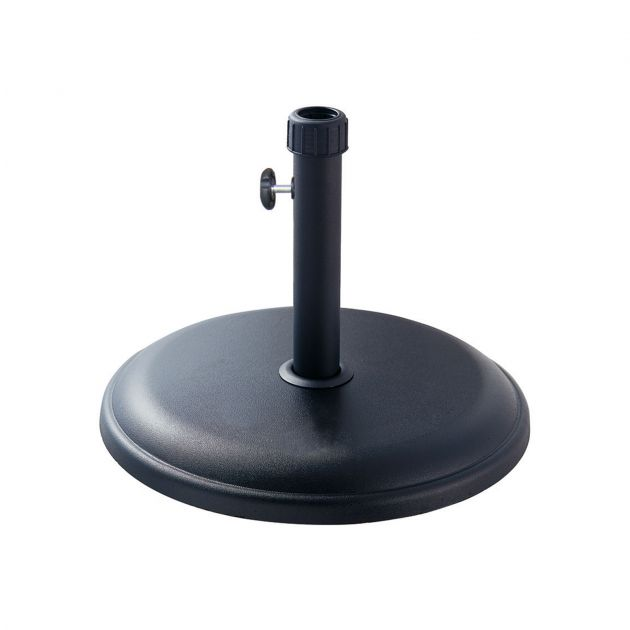 16kg Concrete Parasol Base - Black