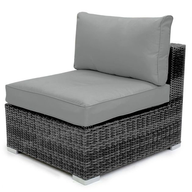 Chelsea Box of 2 Modular Middle Sofa Piece - Grey