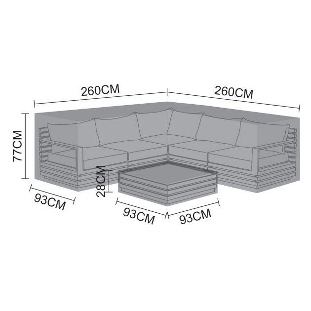 Cover Pack for San Marino Corner Sofa Set