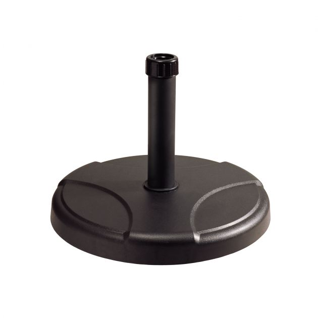 25kg Black Concrete Parasol Base