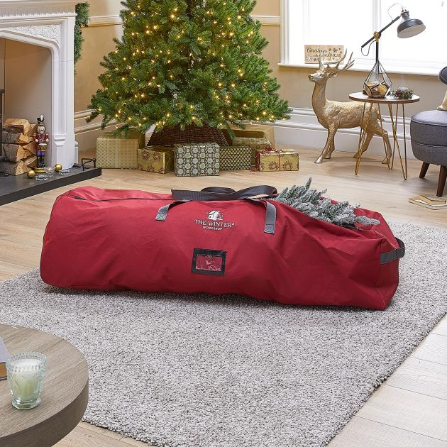 6-7.5ft Artificial Christmas Tree Storage Bag with Wheels