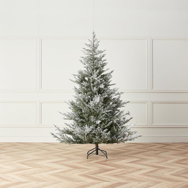 7ft Snowy Englemanns Spruce Artificial Christmas Tree