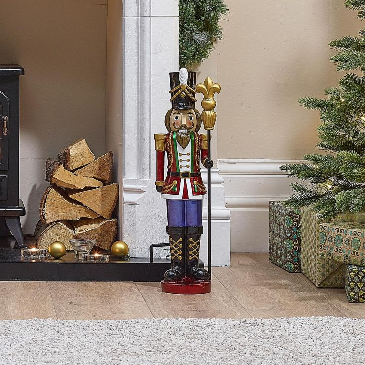 Ansel the 2ft Red Christmas Nutcracker