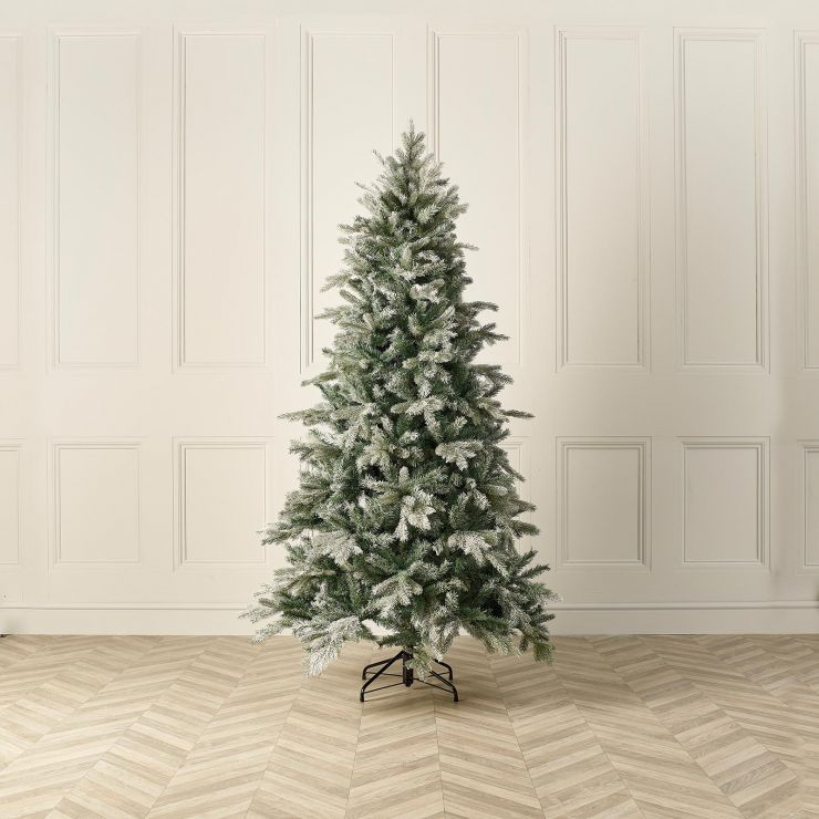 7ft Frosted Sitka Spruce Artificial Christmas Tree