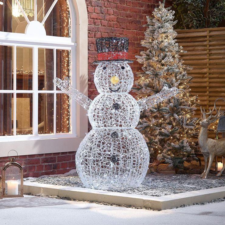 Flurry the 150cm Soft Acrylic Christmas Snowman