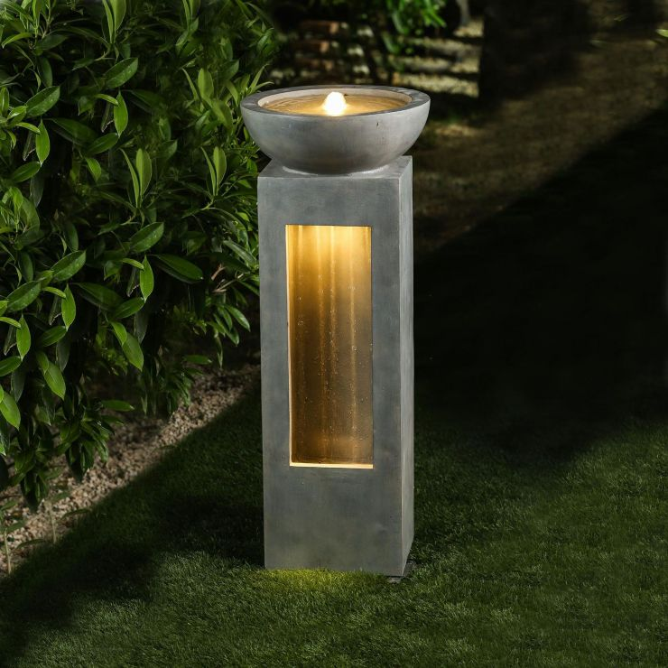 Amity Water Feature - Light Grey