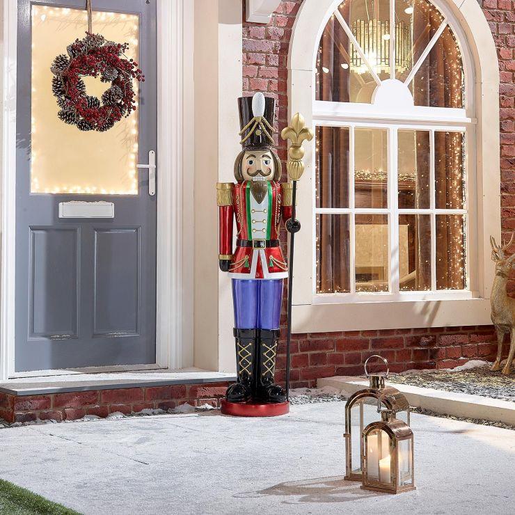 Christian the 5ft LED Christmas Nutcracker