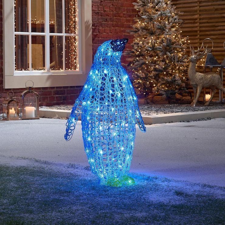 Pepsi the 76cm Soft Acrylic Christmas Penguin