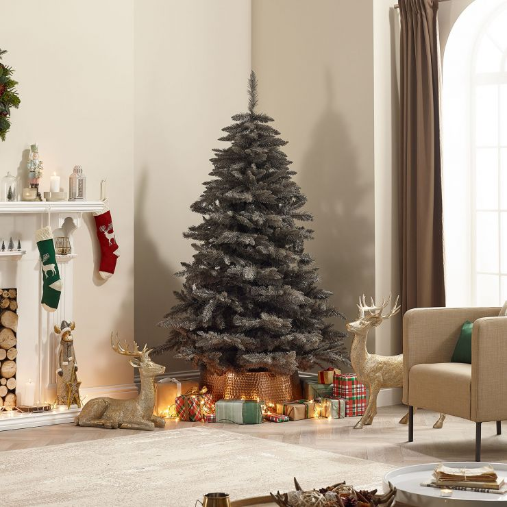 7ft Grey Leyland Spruce Artificial Christmas Tree