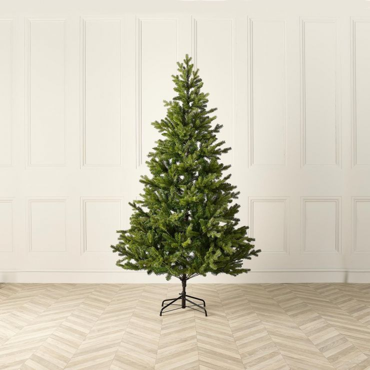 8ft Oregon Pine Artificial Christmas Tree