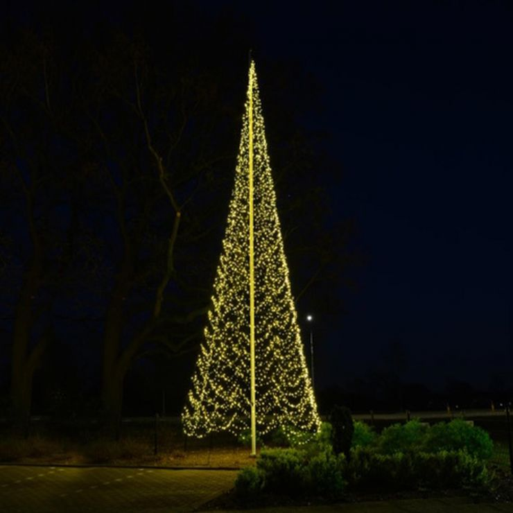 Fairybell 12m 4000 Warm White LED Outdoor Christmas Tree