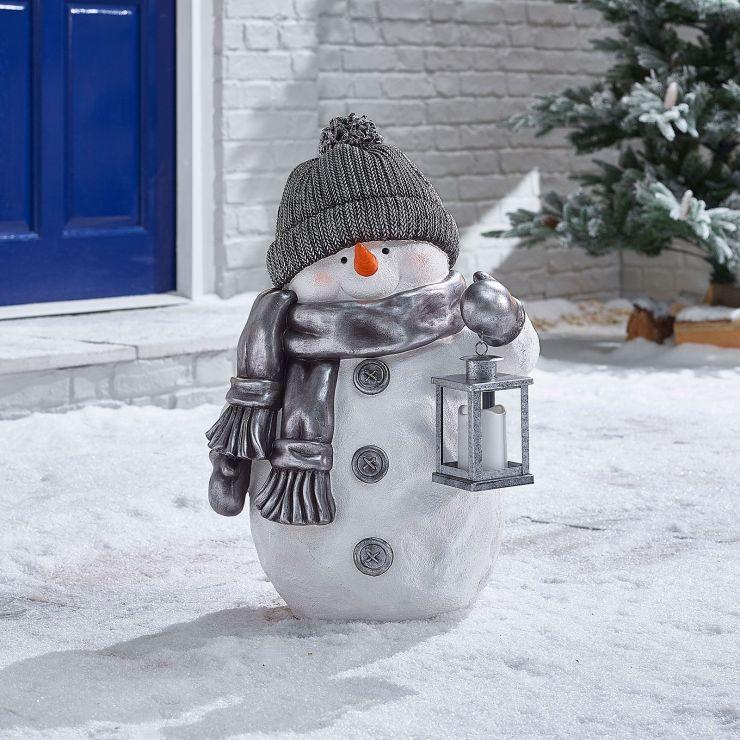 Tinsel the 63cm Christmas Snowman