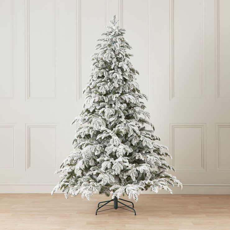 7ft Snowy Noble Pine Artificial Christmas Tree