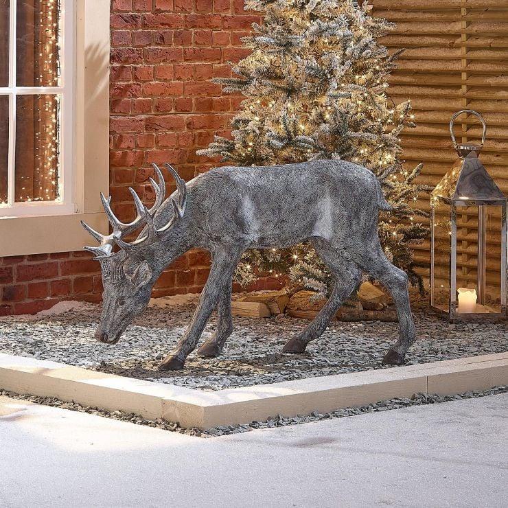 Rasha the 115cm Grey Christmas Reindeer