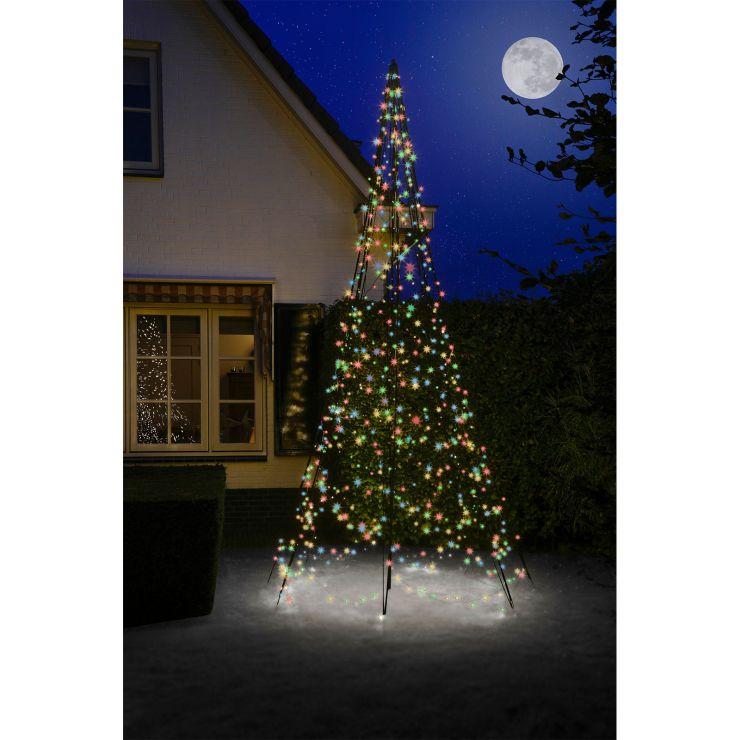Fairybell 4m 640 Multicolour LED Outdoor Christmas Tree