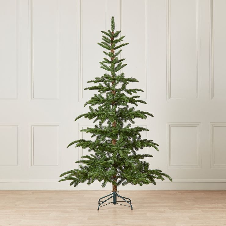 8ft Nobilis Fir Artificial Christmas Tree