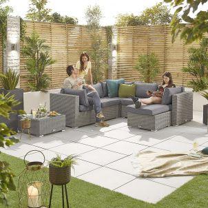 Heritage Chelsea 1A Corner Sofa Set - White Wash