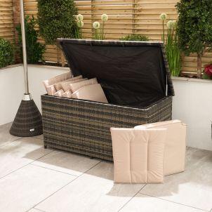 Standard Cushion Storage Box - Brown