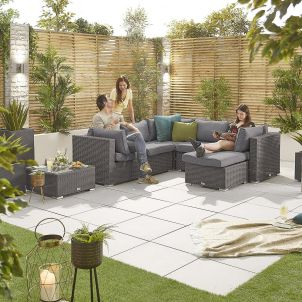 Heritage Chelsea 1A Corner Sofa Set - Slate Grey