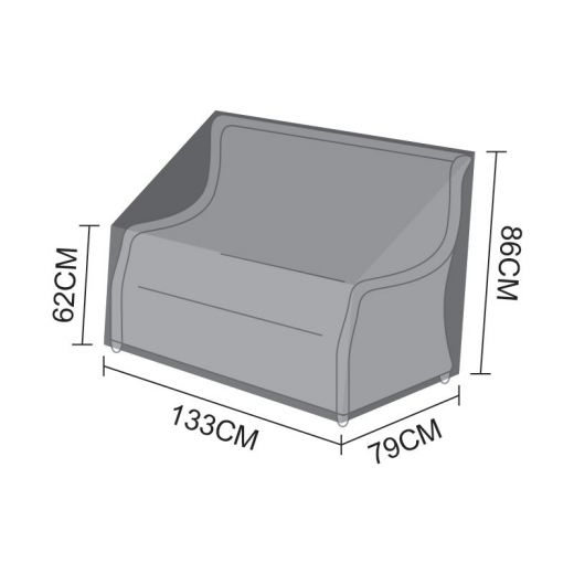 Cover for Oyster 2 Seater Sofa