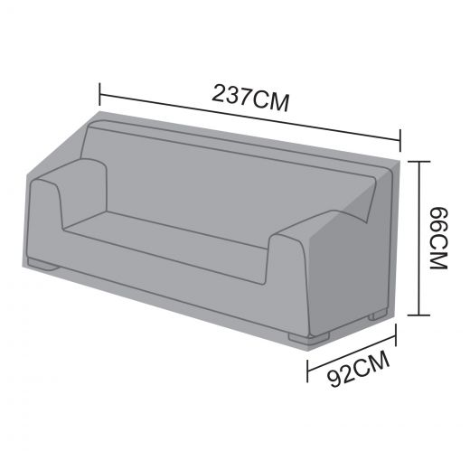 Cover for Luxor 3 Seater Sofa Section - 237cm x 92cm x 66cm