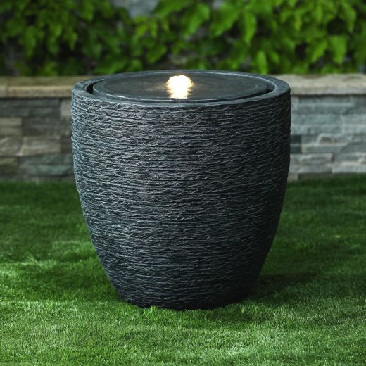 Jalen Water Feature - Dark Grey