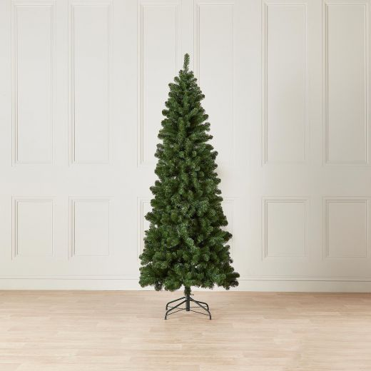 8ft Slim Balsam Fir Artificial Christmas Tree