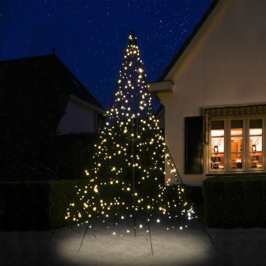 Fairybell 3m 480 Warm White LED Outdoor Christmas Tree