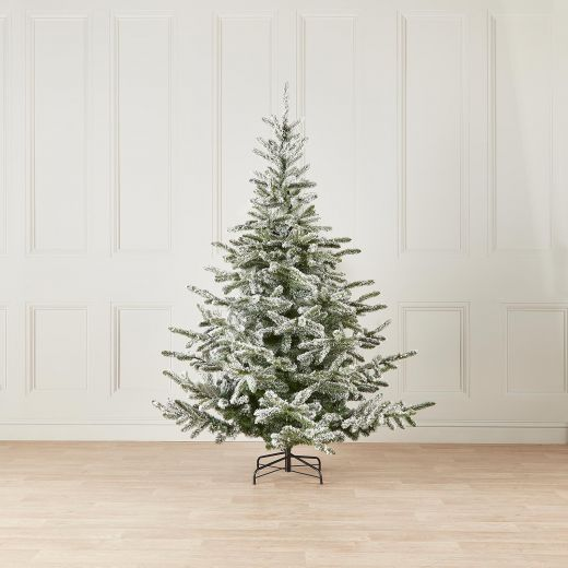 8ft Snowy Colorado Spruce Artificial Christmas Tree
