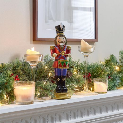 Augustine the 1ft Christmas Nutcracker with Drum