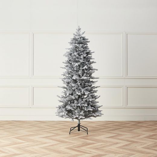 7ft Slim Frosted Calgary Fir Artificial Christmas Tree