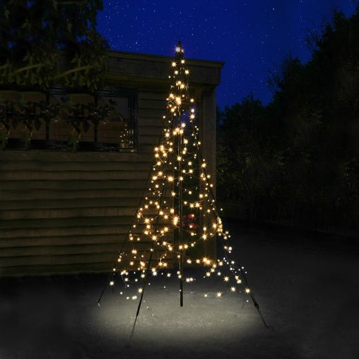 Fairybell 2m 300 Warm White LED Outdoor Christmas Tree