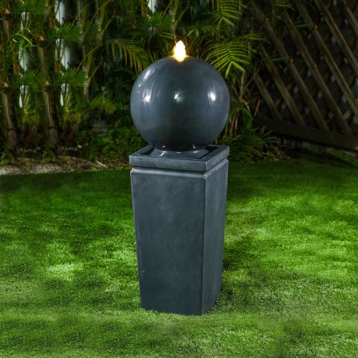 Salem Water Feature - Dark Grey