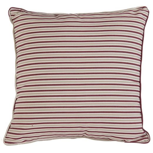 Alexander Rose - 45cm Scatter Cushion - Berry Stripe