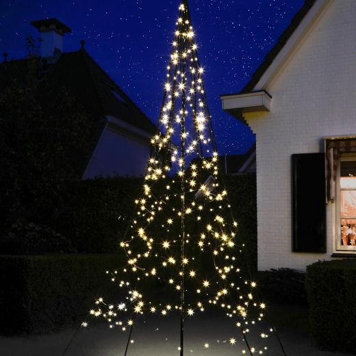 Fairybell 3m 480 Warm White Twinkle LED Outdoor Christmas Tree
