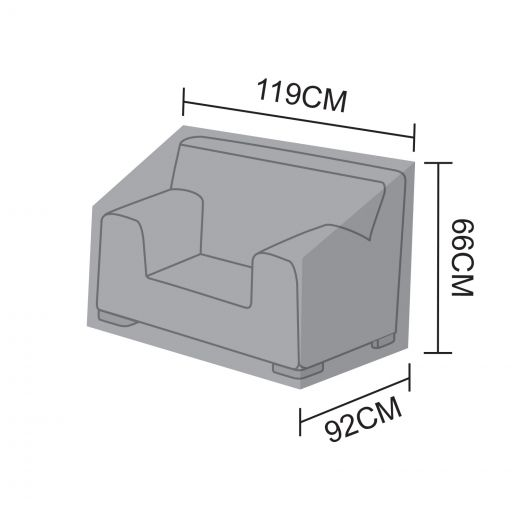 Cover for Luxor Single Amrchair - 119cm x 92cm x 66cm