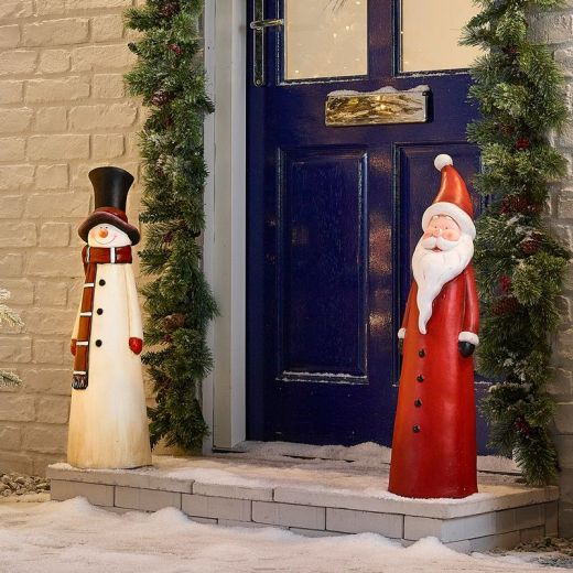 The Small Mr Snow and Father Christmas Duo