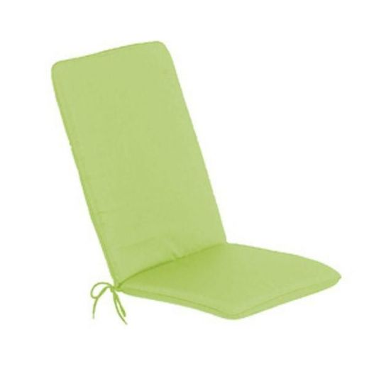 Seat Pad with Back Cushions - Lime Green (Pack of 2)