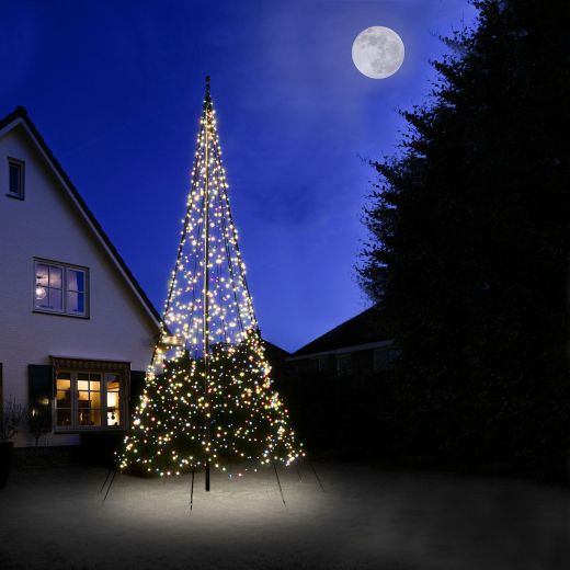 Fairybell 6m 1200 Multicolour LED Outdoor Christmas Tree