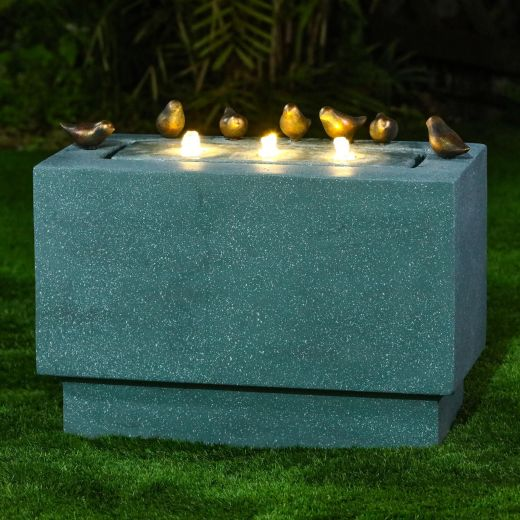 Paz Water Feature - Light Green