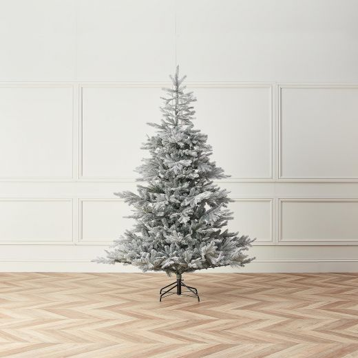 7ft Frosted Calgary Fir Artificial Christmas Tree