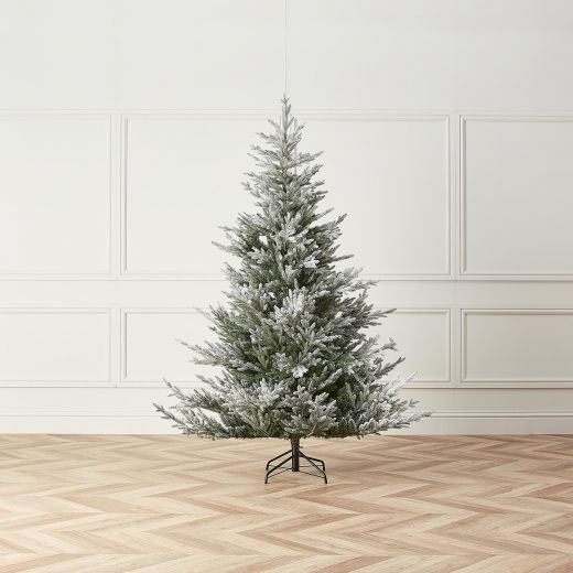 8ft Snowy Englemanns Spruce Artificial Christmas Tree